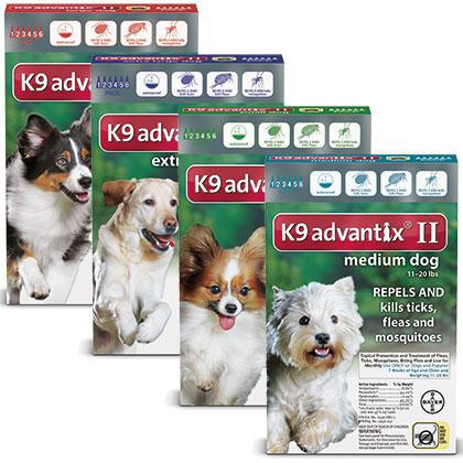 K9 Advantix kills and repels fleas and ticks
