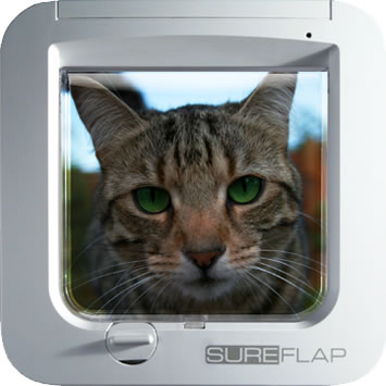 If your cat is microchipped, it can use the SureFlap Microchip Cat Door