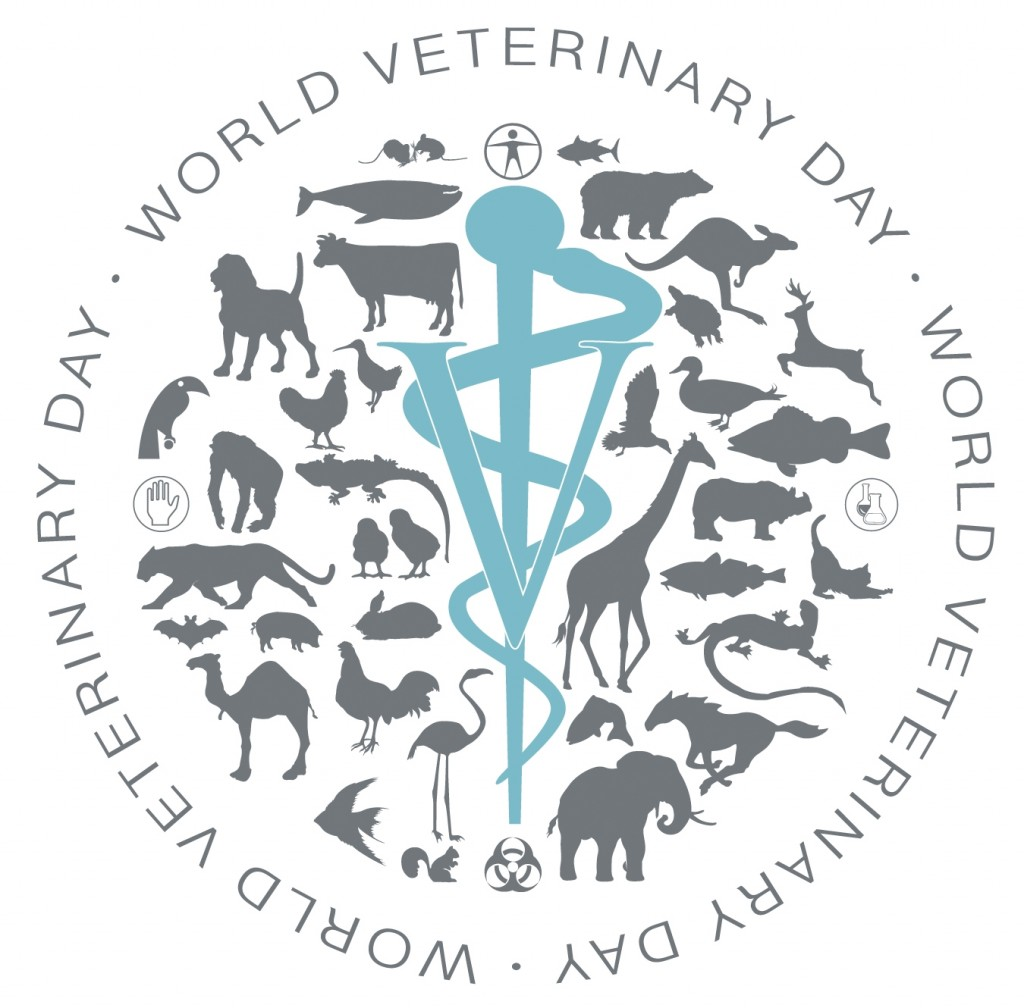 World Veterinary Day is celebrated annually on the last Saturday of April.
