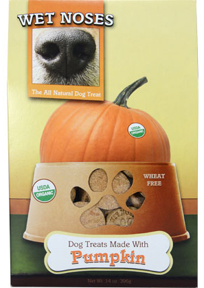 Wet Noses All-Natural Organic dog treats are available at PetMeds