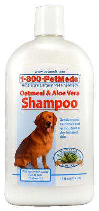 1-800-PetMeds Oatmeal & Aloe Vera Shampoo
