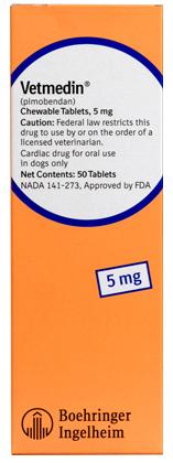 Vetmedin for the treatment of heart failure