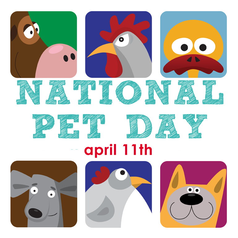 April 11th is National Pet Day
