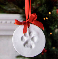 Win the Paw Print Ornament Kit from 1-800-PetMeds