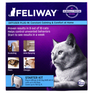 Feliway Diffuser for Cats is available at PetMeds