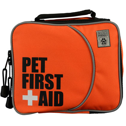 It's important to have a pet first aid kit handy