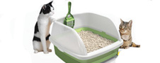 The Breeze litter box system uses pelleted litter