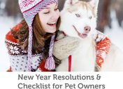 New Year resolutions and checklist for pet owners