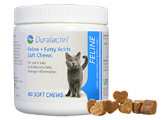 Find Duralactin Feline + Fatty Acids Soft Chews at 1800PetMeds