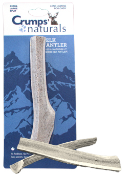 Find Crumps' Naturals Elk Antler Dog Chew at 1800PetMeds