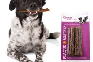 Win FREE Crumps' Naturals Plaque Busters Dental Chews