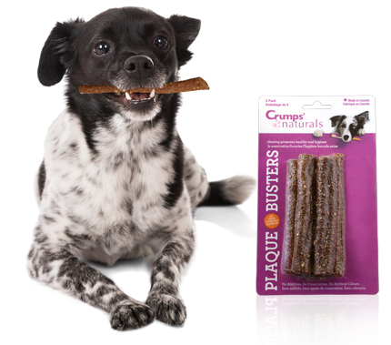 Crumps' Naturals Plaque Busters Dental Chews