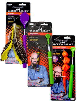 Jackson Galaxy Telescoping Wand Cat Toys