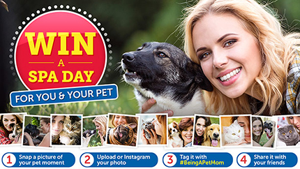 Pet Mom Spa Day Sweepstakes