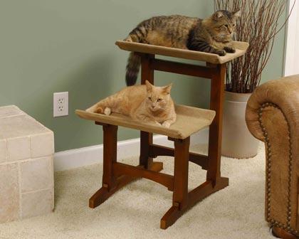 Mr. Herzheru0027s Double Seat Cat Perch