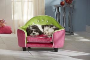 The Enchanted Home Pet Ultra Plush Headboard Pet Beds Create