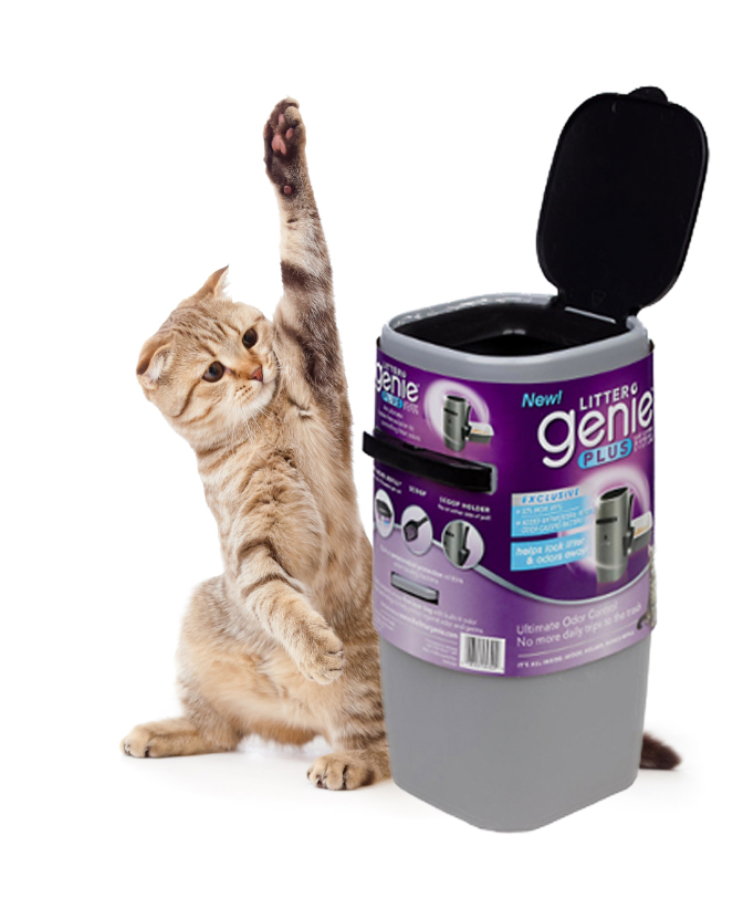 New Product Litter Genie Solves The Problem Of Litter Box Odor