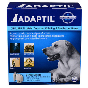 Adaptil Plug In Diffuser for Dogs is available at PetMeds