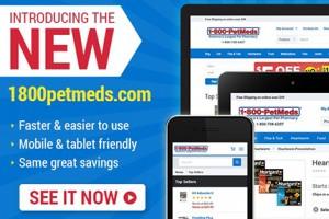 Discover the NEW 1800PetMeds.com website