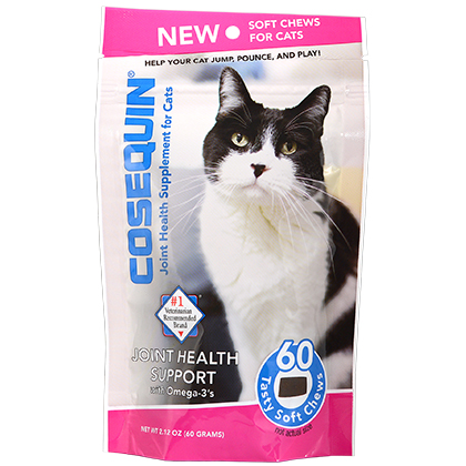 Nutrimax Cosequin Soft Chews for Cats are available at 1800PetMeds