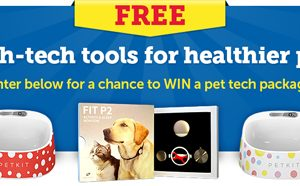 [Sweepstakes] Win a FREE Pet Tech Package in the March Into Tech Sweepstakes