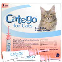 Find Catego for Cats flea and tick prevention at 1800PetMeds