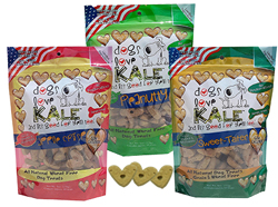 Buy Dogs Love Kale All Natural Wheat Free Dog Treats