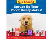 [Sweepstakes] Enter Now for a Chance to Win Grooming Supplies for Your Pup!