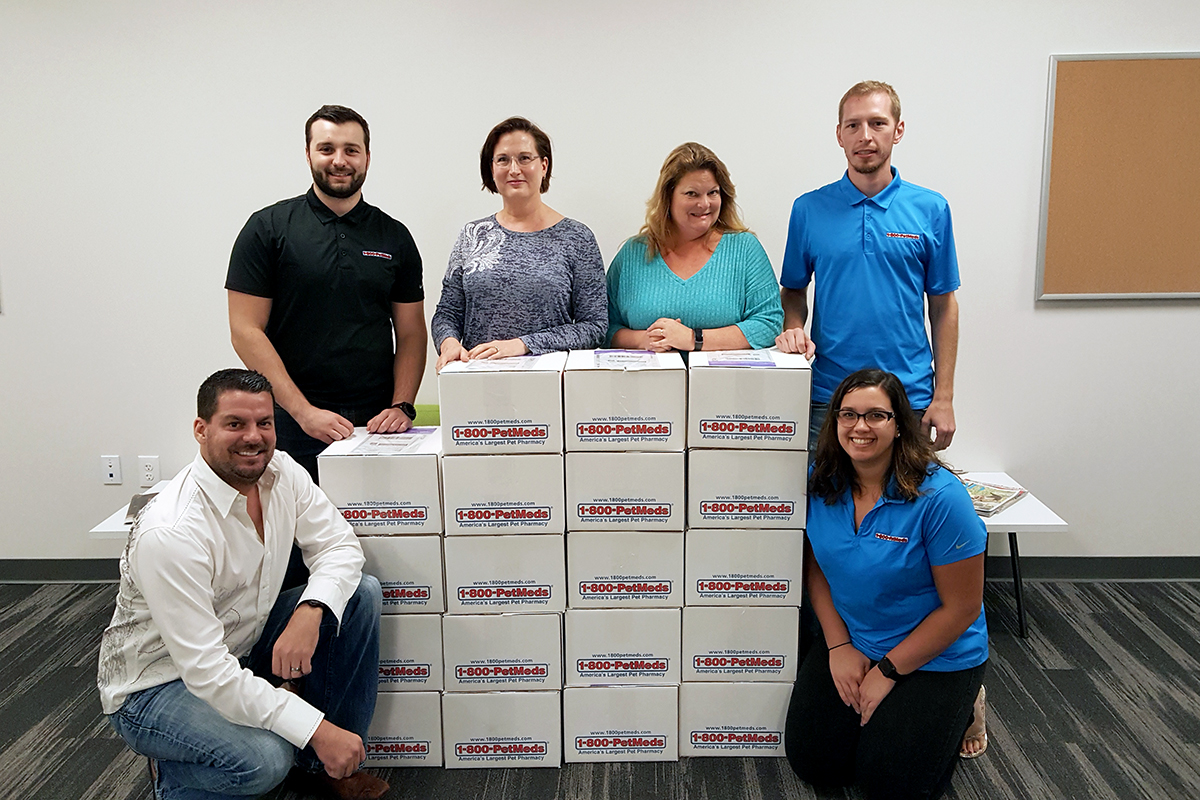 1-800-PetMeds sends well-deserved goodie boxes to the Pasco