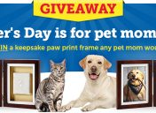 [Giveaway] Pet Moms Day Sweepstakes