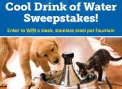 [Givewaway] Cool Drink of Water Sweepstakes