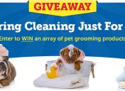 [Giveaway] A Spring Cleaning For Your Pet Sweepstakes